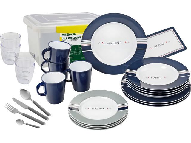 Brunner All Inclusive Dishes Set, design marine